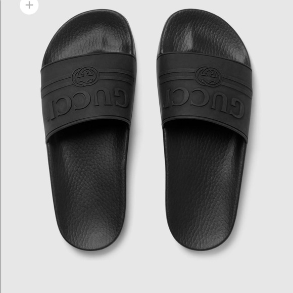 92baaeb78bf1ef Gucci Other - Gucci Black Mens Slide size US 12 worn twice!